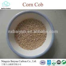 corn cob grits for abrasive and corn cob animal feed