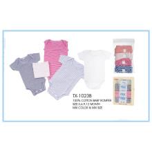 Vente confortable bébé barboteuse vêtements de bébé barboteuse imprimée