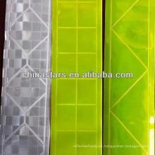Cinta reflectante de PVC en diferentes patrones