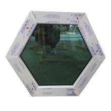 фиксированное круглое окно из ПВХ с высоким качеством в заводской цене