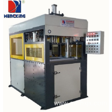 Thick plastic sheet vacuum forming machine