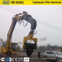 Steinhölzerner hydraulischer vibrierender Stapelhammerfahrer für Bagger