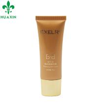 45g bb creme cosmético plástico embalagem tubo coreano para o corpo