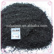 Precio de carbón activado basado en carbón profesional del fabricante por la tonelada para los compradores de Corea