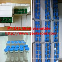 Sexuelles Vergrößerer-Peptid PT-141 Bremelanotid 10mg / vial lyophilisiertes Pulver