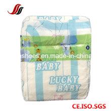 Fralda do bebê da marca do OEM com superfície confortável e boa qualidade, Absorção elevada Bebê recém-nascido Fralda por atacado