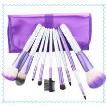 Pincel de base para sombra de olhos, ferramentas, conjunto de pincéis de maquiagem 10 unidades