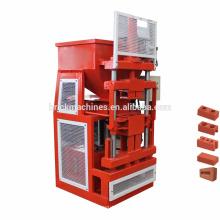 FL1-10 automático eco brava ecomaquinas hydraform bloque de ladrillo que se enclavija que hace la máquina