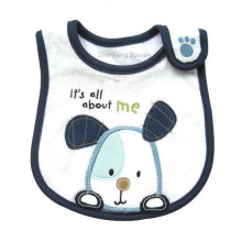 Promotional Cartoon Custom Embroidered Printed Baby Bib