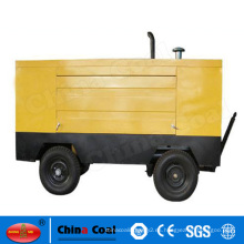 Compresor de aire impulsado por motor diesel