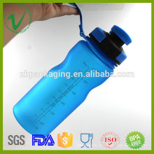 Resistente ao calor BPA Free vazio redondo plástico joyshaker esporte água garrafa