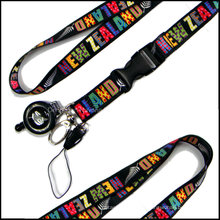 Card Holder Lanyards with Retractable Reeler