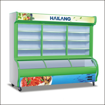Freezer Cabinet Display Cabinet for Restaurant Supermarket