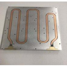 Plaque de refroidissement liquide CNC Disque en aluminium de refroidissement 350mm