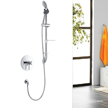 Concealed Thermostatic shower faucets with slide rail