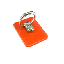 Metal handset ring bracket charger clip card