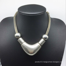 Big Alloy Good Surface Beads Necklace (XJW13772)
