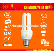 10000H CE qualité 3U 11W T3 Energy-Saving Lamp