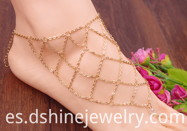 Summer Fashion Toe Chain Anklet