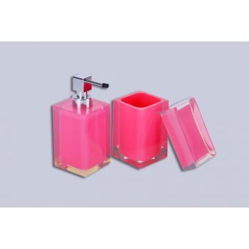 Acryl Badzubehör Pink