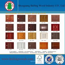 Boa qualidade HDF molde Doorskin