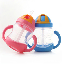 Feeding Bottle Baby Training Cup Straw Baby Sippy Cup