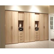 Modern Style Laminat MDF Swing Door Wohnzimmer Kleiderschrank