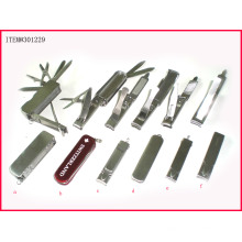 Faltbarer Nagelknipser aus Edelstahl, Nagelpflegeprodukte, Nagelwerkzeug (NC301229)