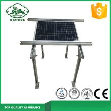 Perfil galvanizado para montagem de painel solar
