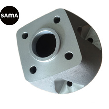 Fundición de aleación de aluminio, fundición de arena, colada Gravitiy para pieza de válvula