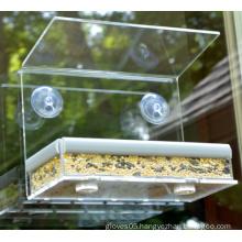 Hot Selling Acrylic Bird Feeder for Garden (ymb6025)