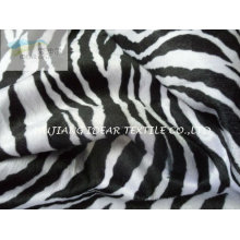 Zebra Pattern Printed Knitted Fabric For Sofa