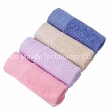 Strong Water Absorbency Solid Silk Print Logo Customized 100% Cotton Bath Face Hand Hair Towel Bathroom Wrap Towel