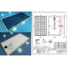 Модуль 250W панели солнечных батарей Поликристаллических фотоэлектрических с CE TUV и ISO утвержденный