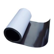 Rolls of flexible rubber magnet sheet