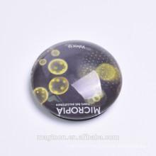 customized glass magnet Souvenir Glass Fridge Magnet