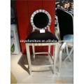 Antique wood bar stool XD1019