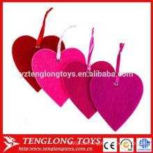 Heißer Verkauf Felt Heart Ornaments 3mm