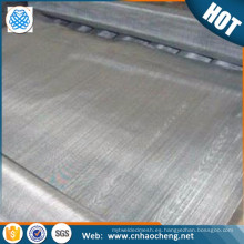 Malla de alambre tejida ultrafina del acero inoxidable magnético 410 / S41000 430
