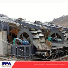 Prix de machine d'extracteur de sable de Shibang à vendre