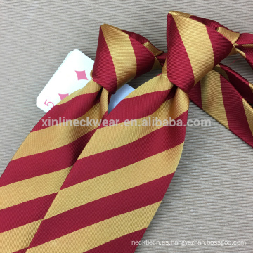 Fabricante hecho a mano de la corbata de la seda 100% del nudo perfecto de China