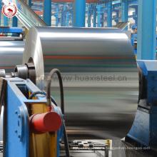 Цена для GB / T2520 & JIS G3303 Стандартные банки для оливкового масла Подержанная Tinplate Coil
