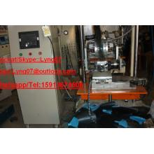 Cepillo en forma de abanico de 3 ejes máquina de cepillado máquina / máquina de acolchado cepillo