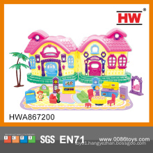 New Item Play Set ABS Funny Plastic Mini House Toy for kids