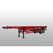 2 Axle Container Transport Skeleton Semi Trailer