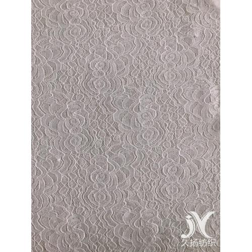 Corded Poly Spandex Lace