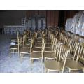 Various color rental napoleon chair, chaise napoloen