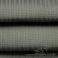 Wasser & Wind-resistent Mode Jacke Daunenjacke gewebt Plaid Jacquard 100% Polyester Sea-Island Filament Stoff (X050)