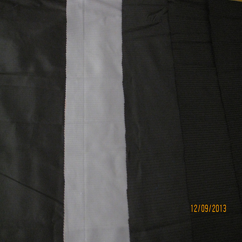 Black Ivory Herringbone Pocketing