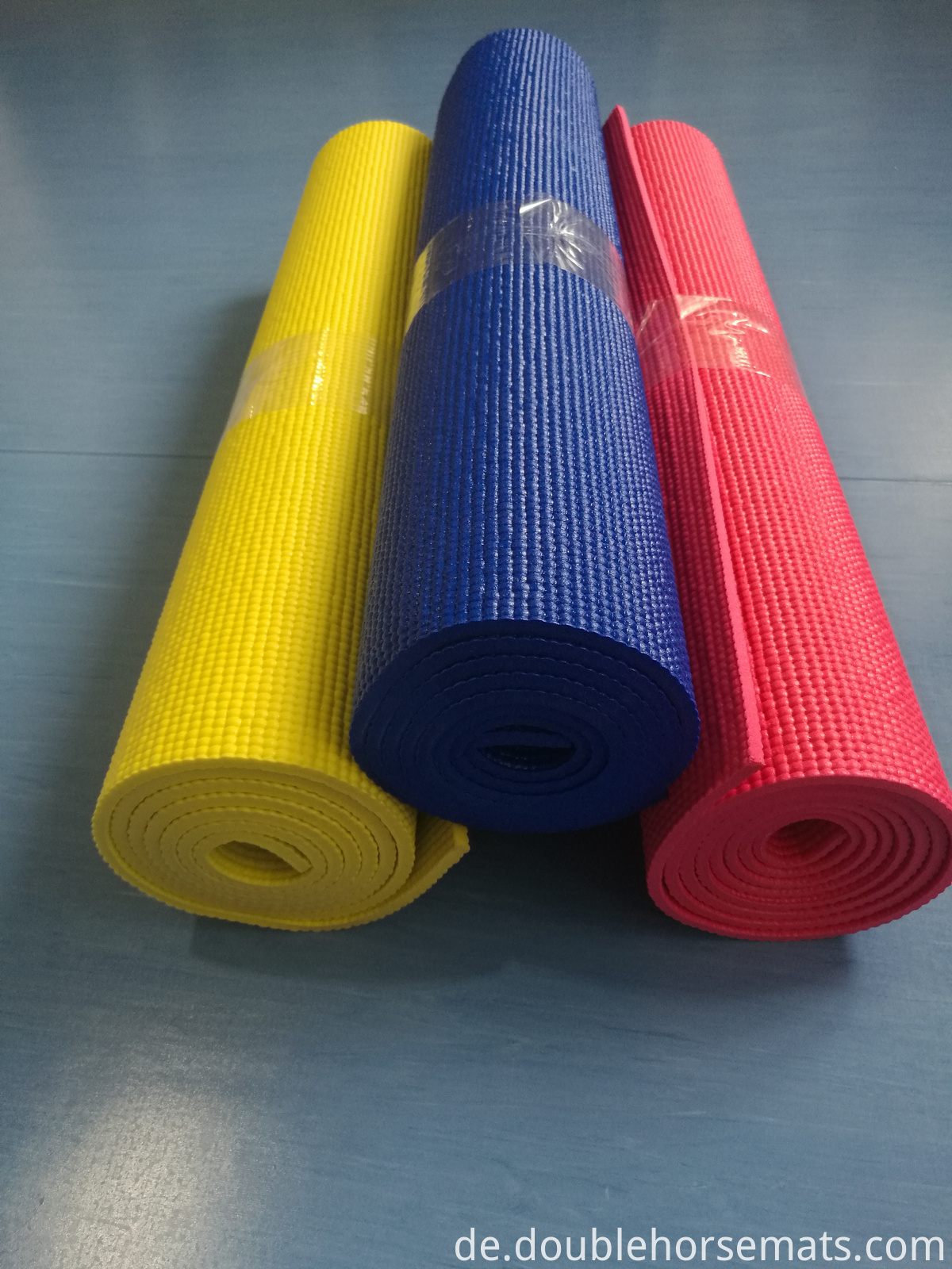 PVC single color yoga mat